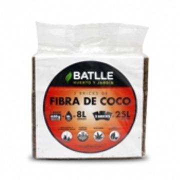 Tierras Y Sustratos - Todas - Fibra De Coco Brick 5kg