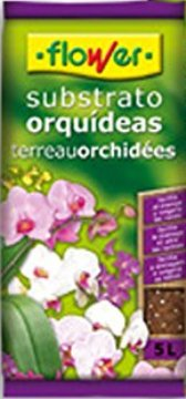 Tierras Y Sustratos - Todas - Sustrato Orquideas Flower 5l