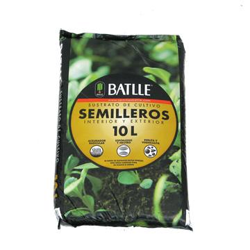 Tierras Y Sustratos - Sustratos Vegetales - SUSTRATO SEMILLEROS 10L BATLLE