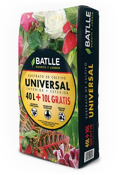 Tierras Y Sustratos - Sustratos Vegetales - Sustrato Universal 40 + 10l Batlle