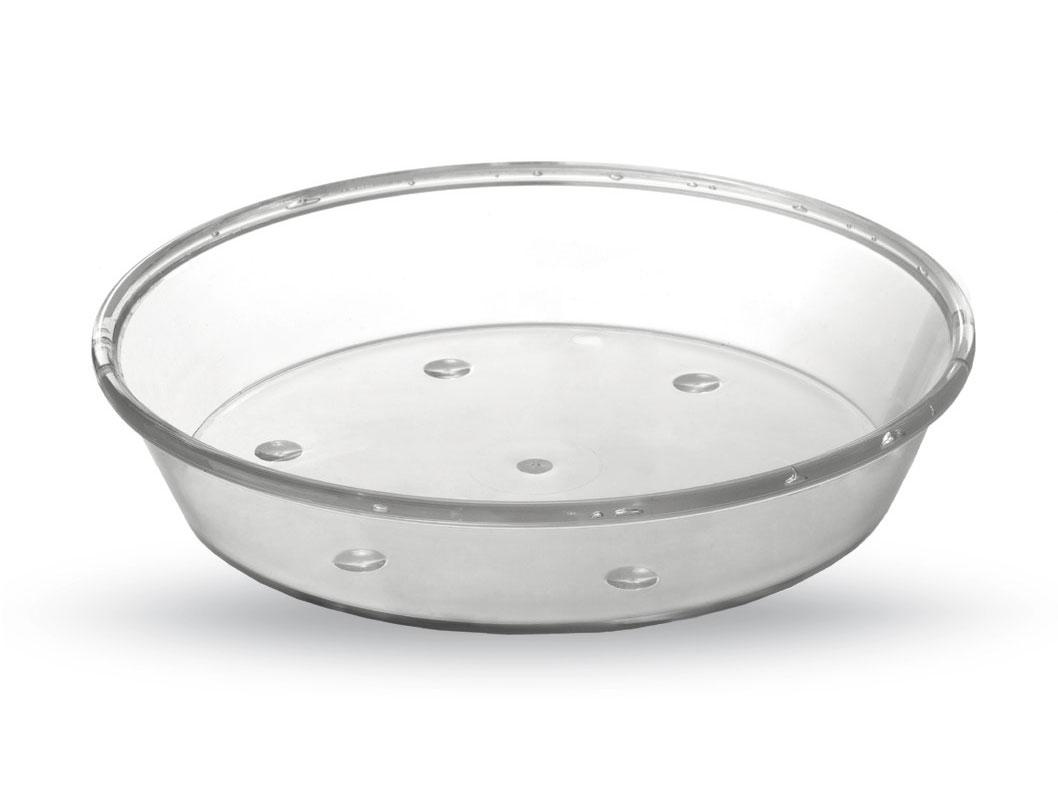 Macetas Y Jardineras - Macetas Plastico - Plato Transparente Plastico Redondo