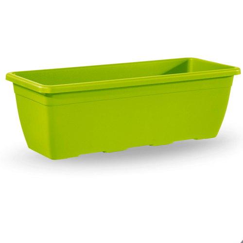 Macetas Y Jardineras - Jardineras Plastico - Jardinera Plastico Naxos Verde Pistacho