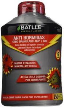 Abonos Y Fitosanitarios - Insecticidas - Antihormigas Cebo Granulado 250gr