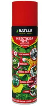 Abonos Y Fitosanitarios - Insecticidas - Insecticida Total Aerosol 500ml