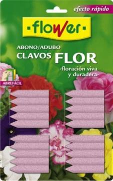 Abonos Y Fitosanitarios - Abonos Quimicos - Clavos Abono Plantas De Flor 20 Ud