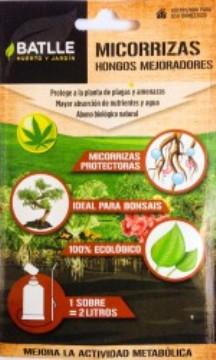 Abonos Y Fitosanitarios  Ecologicos - Abonos Ecologicos - Microrrizas Eco,hongos Mejoradores Sobre Para 2lts