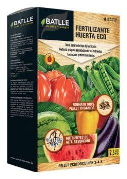 Abonos Y Fitosanitarios  Ecologicos - Abonos Ecologicos - Fertilizante Huerta Ecologico Pellet 2,5kg