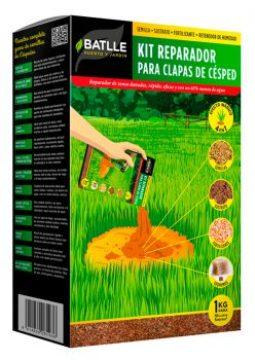 Semillas De Cesped Y Tepes          - Semillas De Cesped - Kit Reparador Para Calvas Del Cesped 1kg