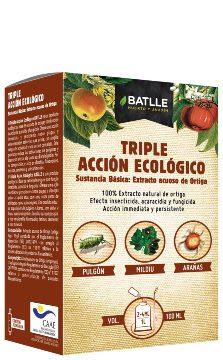 Abonos Y Fitosanitarios  Ecologicos - Insecticidas Ecologicos - TRIPLE ACCION ECOLOGICO 100ML